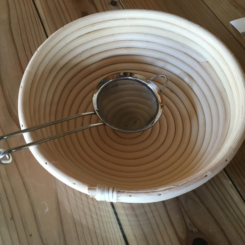 発酵かごと茶漉し