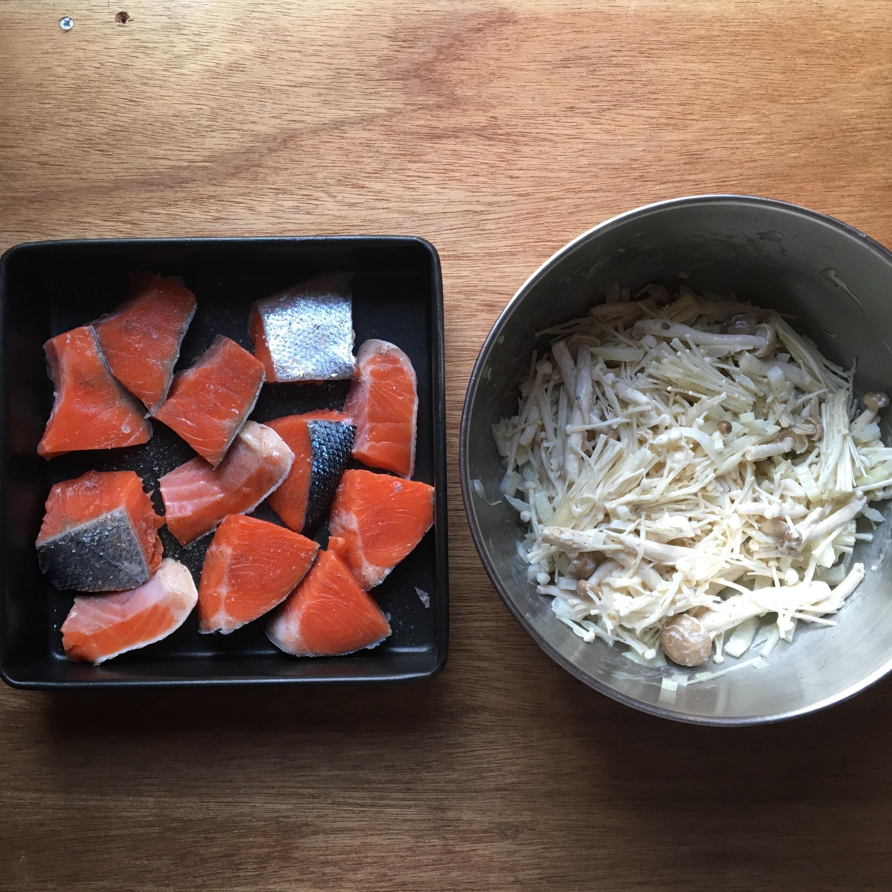 生鮭 ホイル焼き