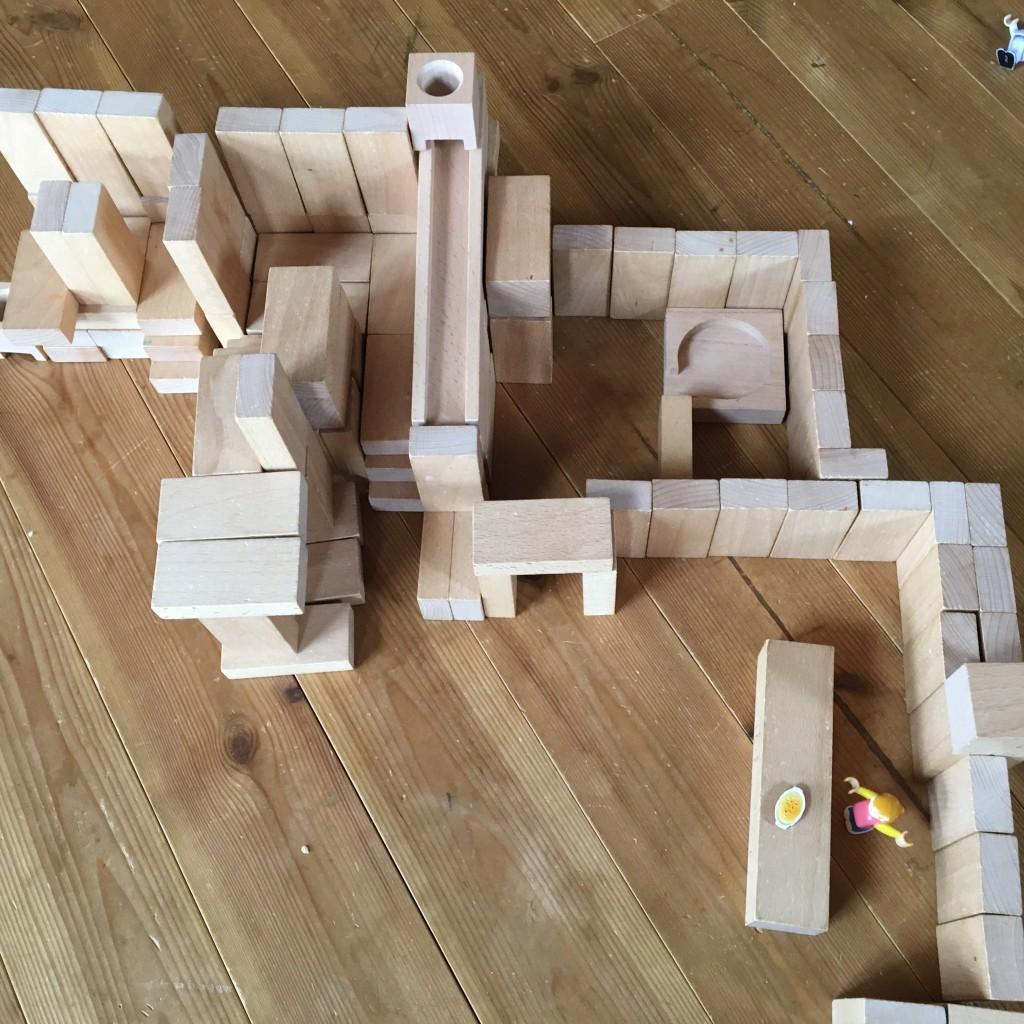 積み木  家